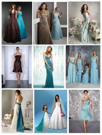 Blue Bridesmaid Dresses | Wedding Plan Ideas