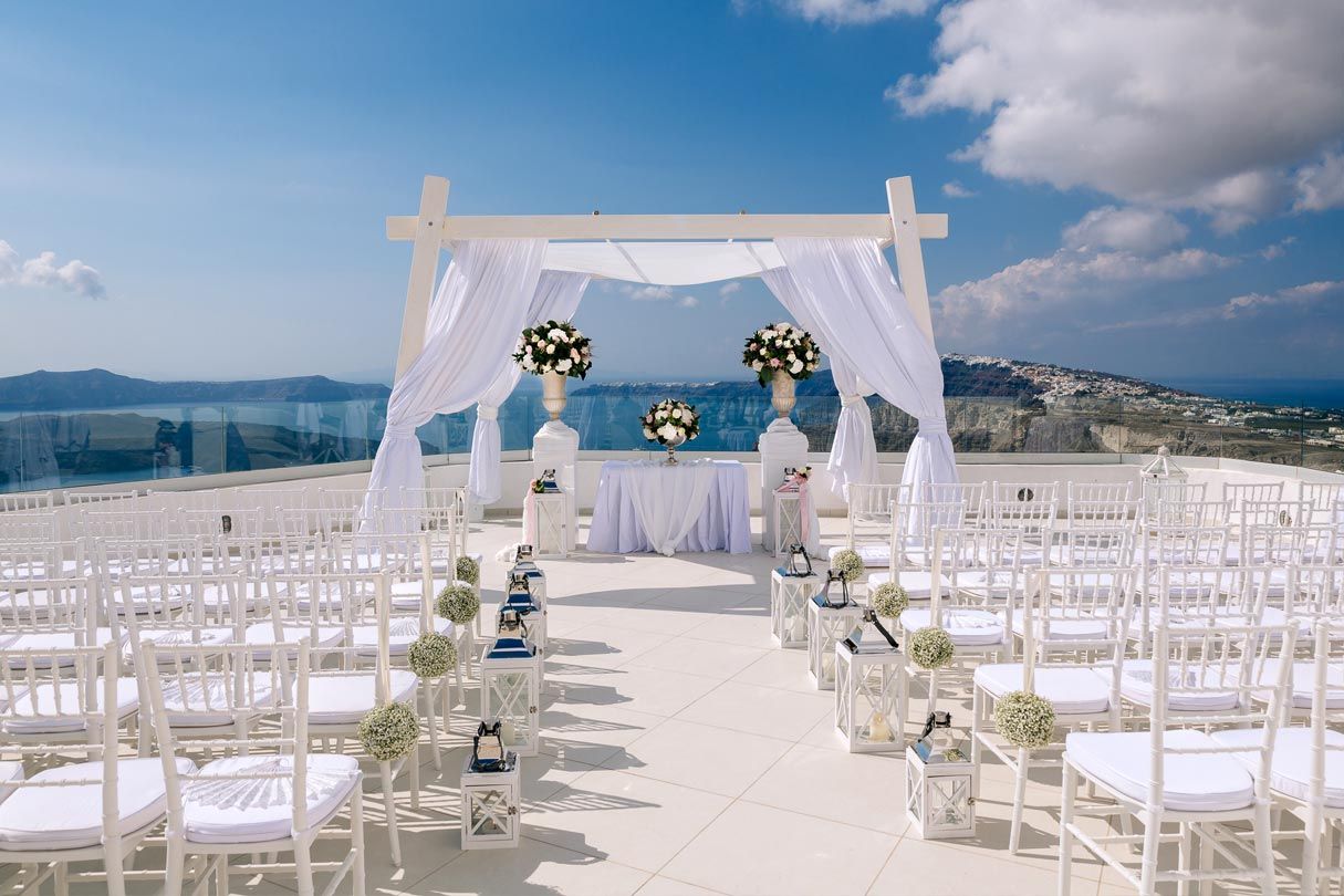 Santo Winery Wedding Venue  Santorini Wedding Venues  Locations