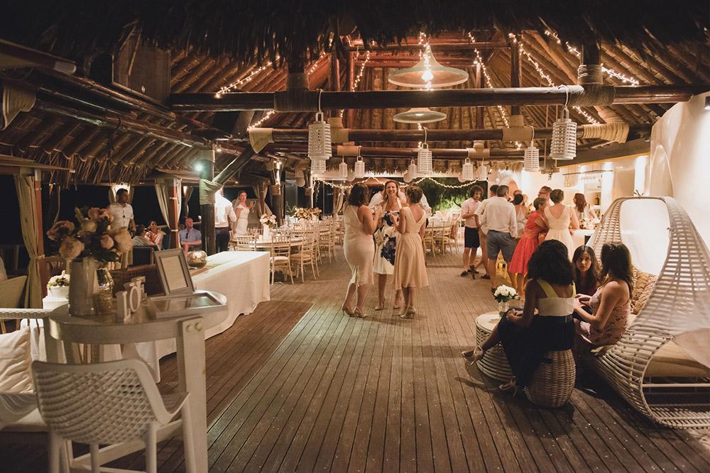 Theros Beach Bar Wedding Venue  Santorini Wedding Venues  Locations
