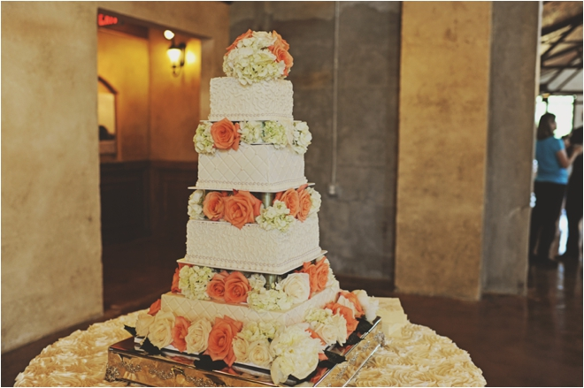 Champagne and Coral Vintage Wedding Houston  Houston