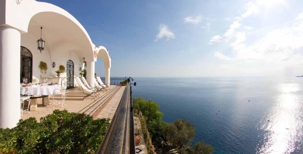 Villa Oliviero Location in Amalfi Coast Positano