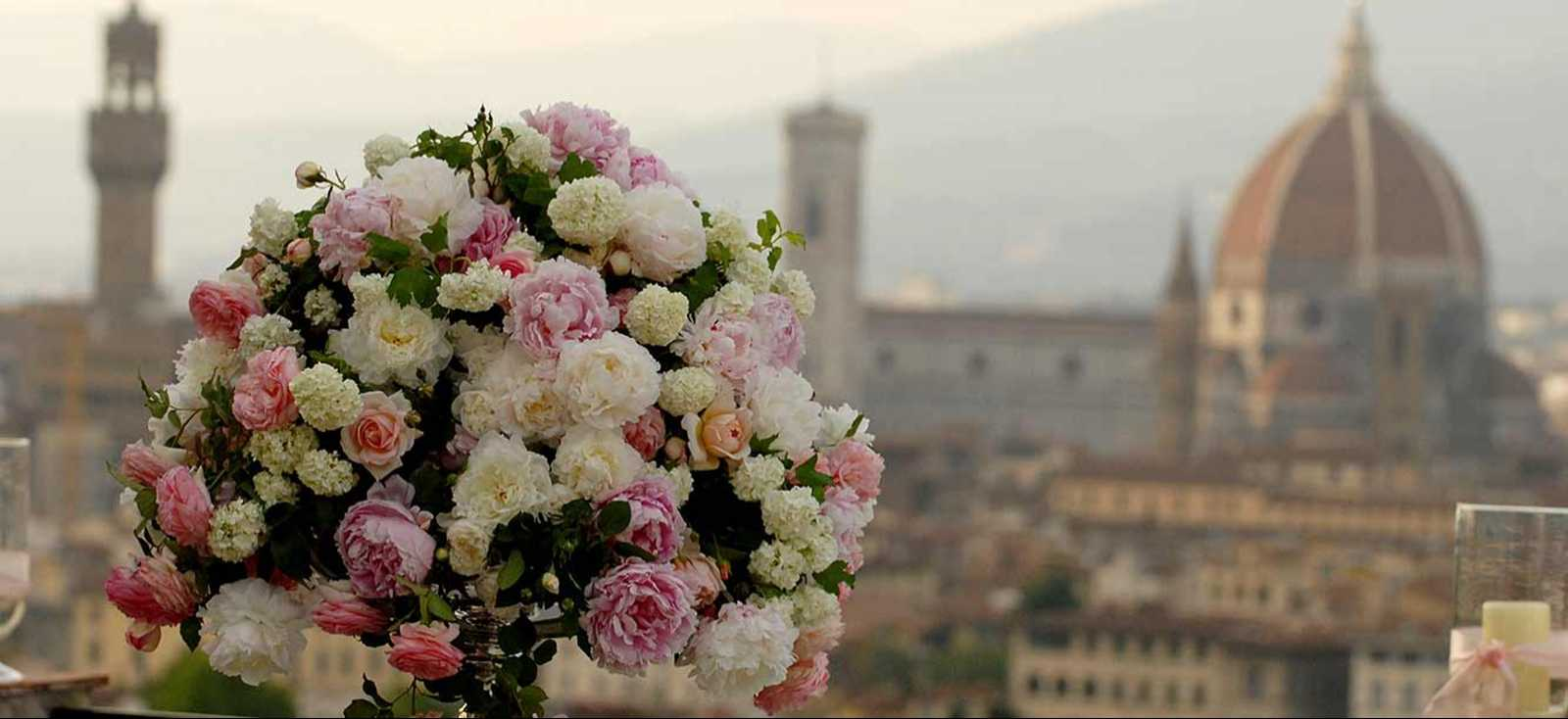 Wedding Flowers In Tuscany