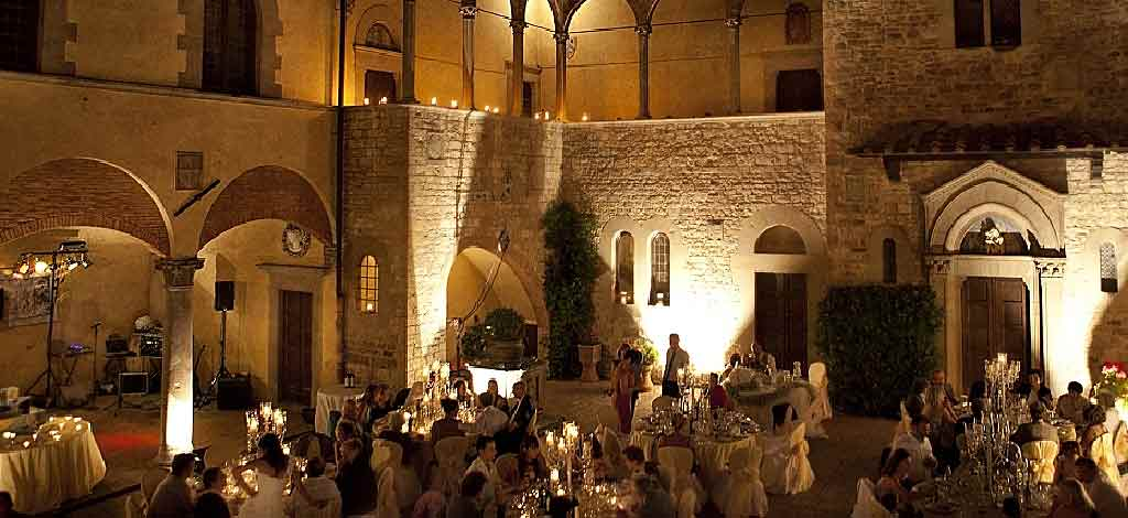 Weddings in castles in italy