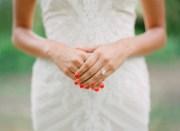 bridal nail styles inspire