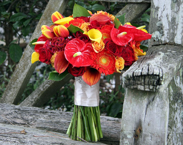 Autumn Flowers for Weddings  weddingsonline