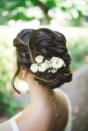 romantic bridal dos - top