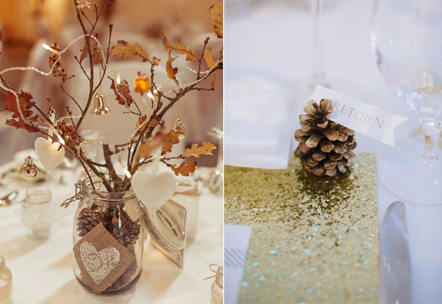 Wedding Decor Ideas for Autumn  Winter Weddings