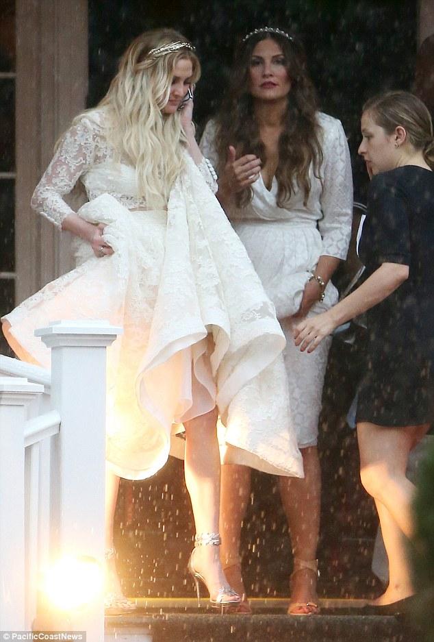 8 Most Stylish Celebrity Wedding Dresses from 2014  weddingsonline