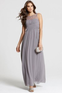 20 Gorgeous Grey Bridesmaid Dresses | weddingsonline