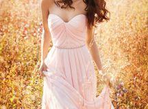 17 Stunning Blush Bridesmaid Dresses   weddingsonline