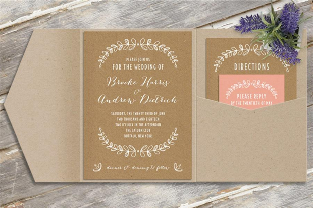 38 Geous Wedding Invites To Suit Every Style Of
