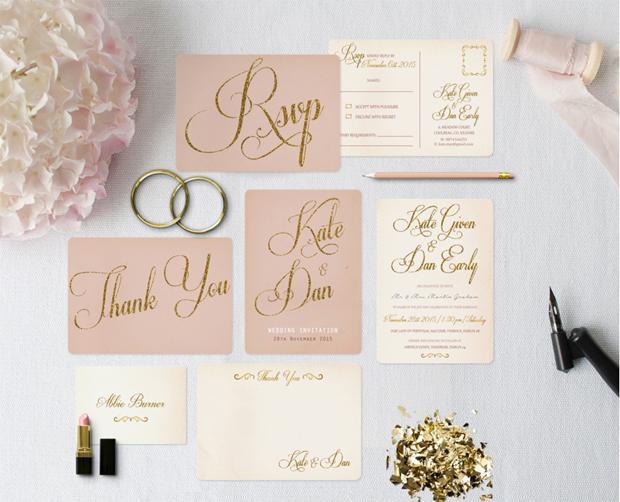 20 Wedding Invitations With Fabulous Fonts Weddings Lantz Bunting Invitation