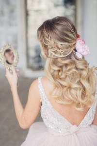 16 Stunning Half Up Half Down Wedding Hairstyles