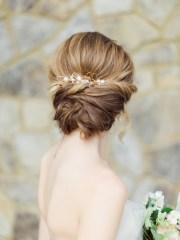 romantic bridal updos inspire