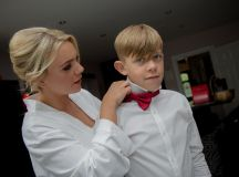 A Fun DIY Wedding at The Station House Hotel images 6