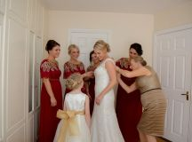 A Fun DIY Wedding at The Station House Hotel images 23