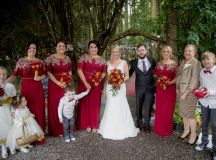 A Fun DIY Wedding at The Station House Hotel images 33