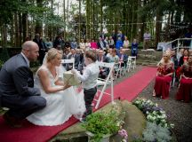 A Fun DIY Wedding at The Station House Hotel images 37