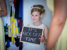 A Fun Footie Themed Wedding at Knightsbrook Hotel by M&M Photography images 11
