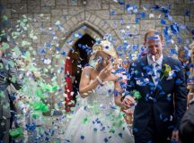 A Fun Footie Themed Wedding at Knightsbrook Hotel by M&M Photography images 40