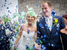 A Fun Footie Themed Wedding at Knightsbrook Hotel by M&M Photography images 41