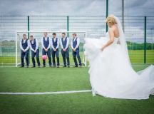 A Fun Footie Themed Wedding at Knightsbrook Hotel by M&M Photography images 46