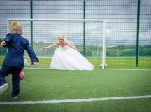 A Fun Footie Themed Wedding at Knightsbrook Hotel by M&M Photography images 47