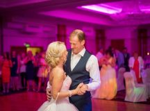 A Fun Footie Themed Wedding at Knightsbrook Hotel by M&M Photography images 74