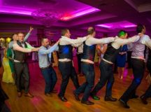 A Fun Footie Themed Wedding at Knightsbrook Hotel by M&M Photography images 77