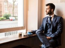 16 Stylish Navy Suits for Grooms | weddingsonline
