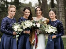 A Glittering Winter Wedding at The Keadeen Hotel images 52
