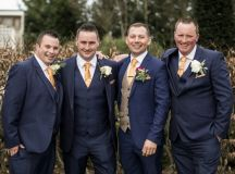 A Glittering Winter Wedding at The Keadeen Hotel images 58