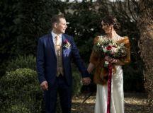 A Glittering Winter Wedding at The Keadeen Hotel images 62