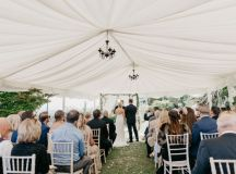 A Glamorous Royal Marine Hotel Wedding by the Sea images 18