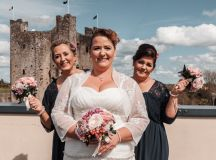 A Delightful Trim Castle Wedding by Peter Bell Photography images 8