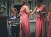 A Stylish Bridge House Hotel Wedding by Darren Byrne Photography & Film images 15
