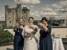 A Delightful Trim Castle Wedding by Peter Bell Photography images 10