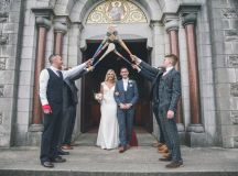 A Stylish Bridge House Hotel Wedding by Darren Byrne Photography & Film images 26