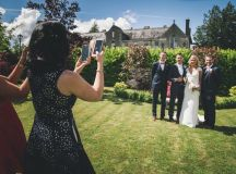 A Stylish Bridge House Hotel Wedding by Darren Byrne Photography & Film images 28