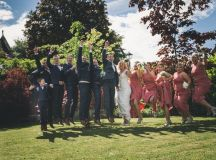 A Stylish Bridge House Hotel Wedding by Darren Byrne Photography & Film images 30