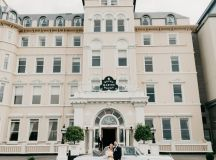 A Glamorous Royal Marine Hotel Wedding by the Sea images 44
