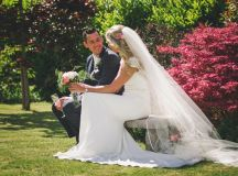 A Stylish Bridge House Hotel Wedding by Darren Byrne Photography & Film images 33