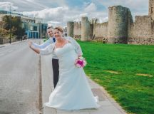 A Delightful Trim Castle Wedding by Peter Bell Photography images 29