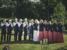 A Stylish Bridge House Hotel Wedding by Darren Byrne Photography & Film images 45