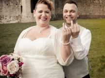 A Delightful Trim Castle Wedding by Peter Bell Photography images 31