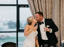 A Glamorous Royal Marine Hotel Wedding by the Sea images 56
