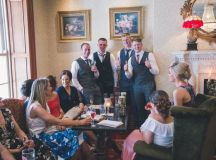 A Stylish Bridge House Hotel Wedding by Darren Byrne Photography & Film images 64