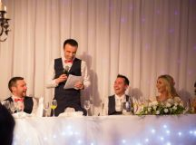 A Stylish Bridge House Hotel Wedding by Darren Byrne Photography & Film images 71