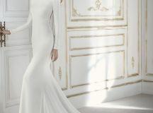 17 Chic, Minimal Wedding Dresses for Modern Brides images 1