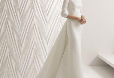 17 Chic, Minimal Wedding Dresses for Modern Brides